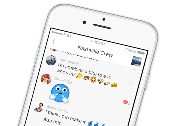 GroupMe iPhone App Screenshot